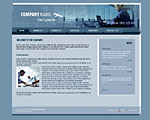 Quality light-steel-blue website template / web page template with 3D-tabs navigation bar on the top, news section and nice collage. Categories: 3D style, Business, Education, Clean style, Commerce, Computers. Designed by Colorifer.com