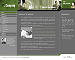 Quality gray and green website template / web page template with nice collage, sidebar on the left with submenu, news and testimonials sections. Categories: Angular style, Business, Education, Law, Politics, Clean style, Commerce. Designed by Colorifer.com