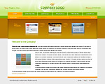 Quality brown and green website template / web page template with tabs navigation bar on the top and submenu, search panel, nice products section, reflections and gradients. Categories: Business, Computers, Education, Law, Politics, Clean style, Commerce, Portfolio, Web 2.0, Art, Photography, ArtWorks, Neutral, Web design. Designed by Colorifer.com